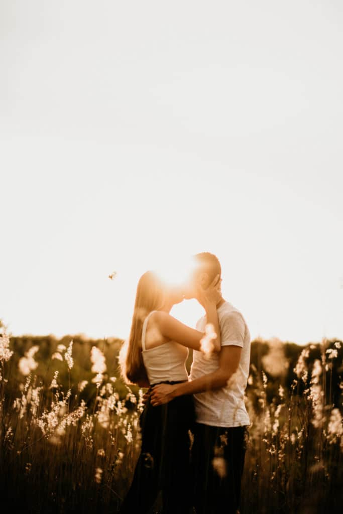 Loveshoot Engagementshoot Goldenhour Goudenuur