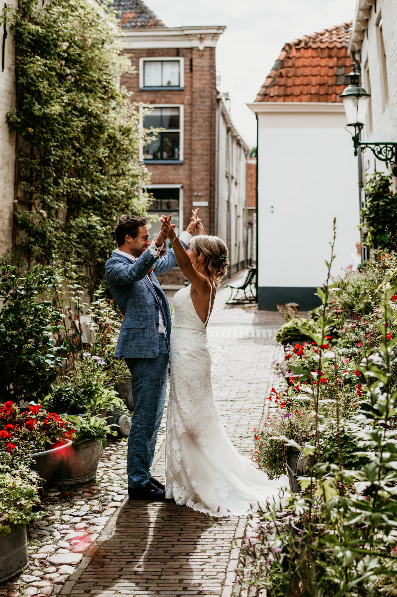 Trouwfotograaf herberg molecaten Hattem Zwolle