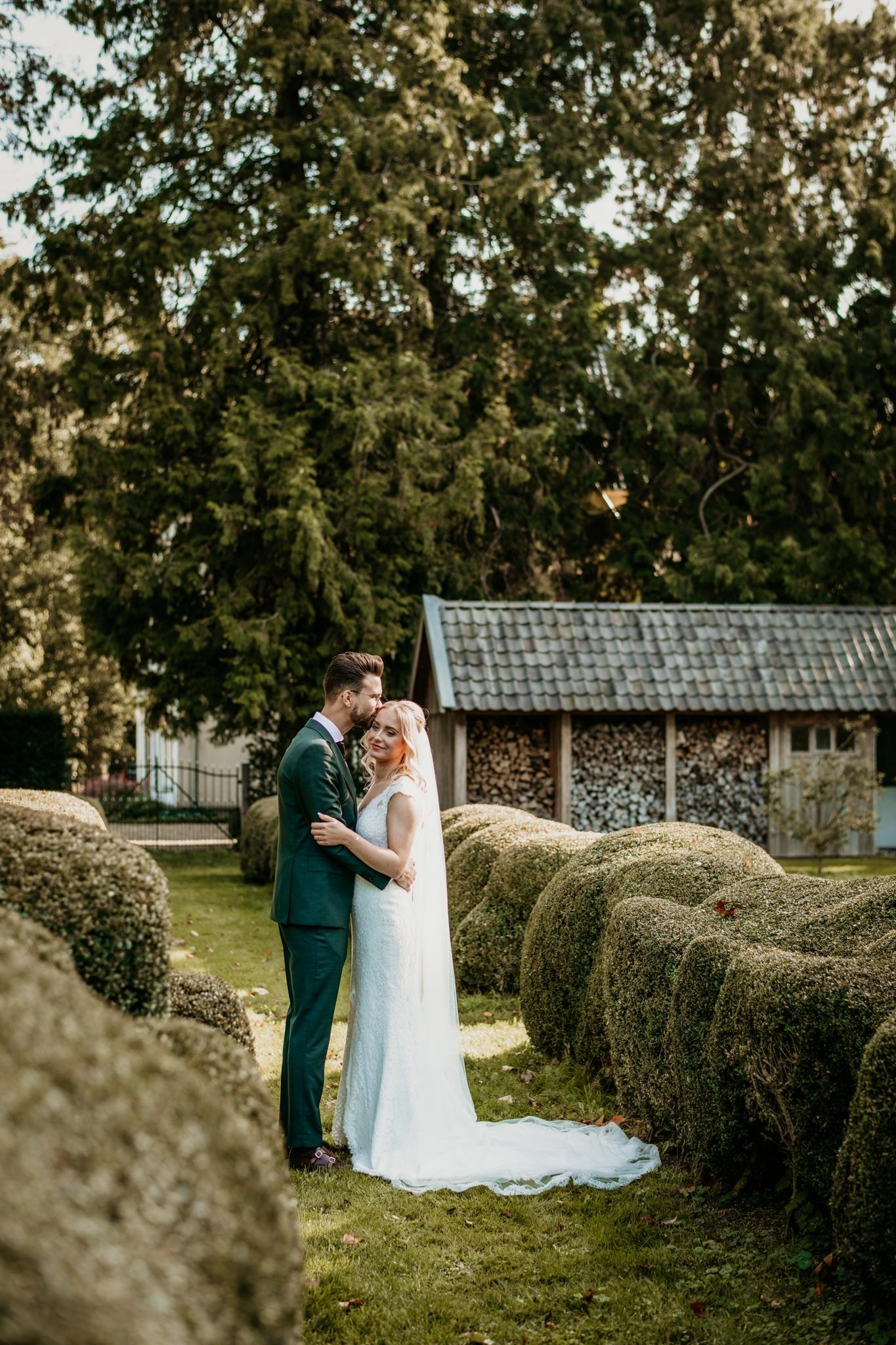 Romantische zomerbruiloft Nunspeet Zwolle