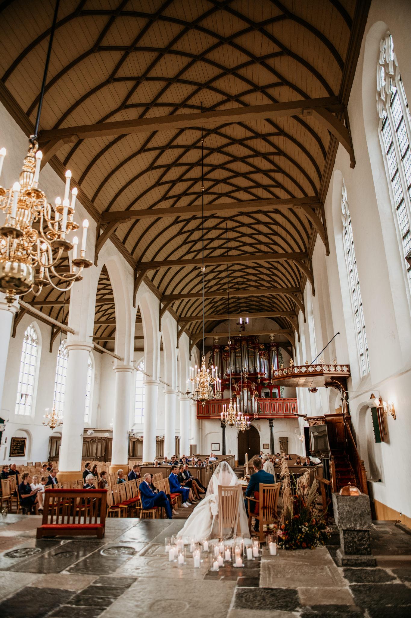 Trouwen in Vollenhove Old Ruitenborgh Oldenhof Grote kerk