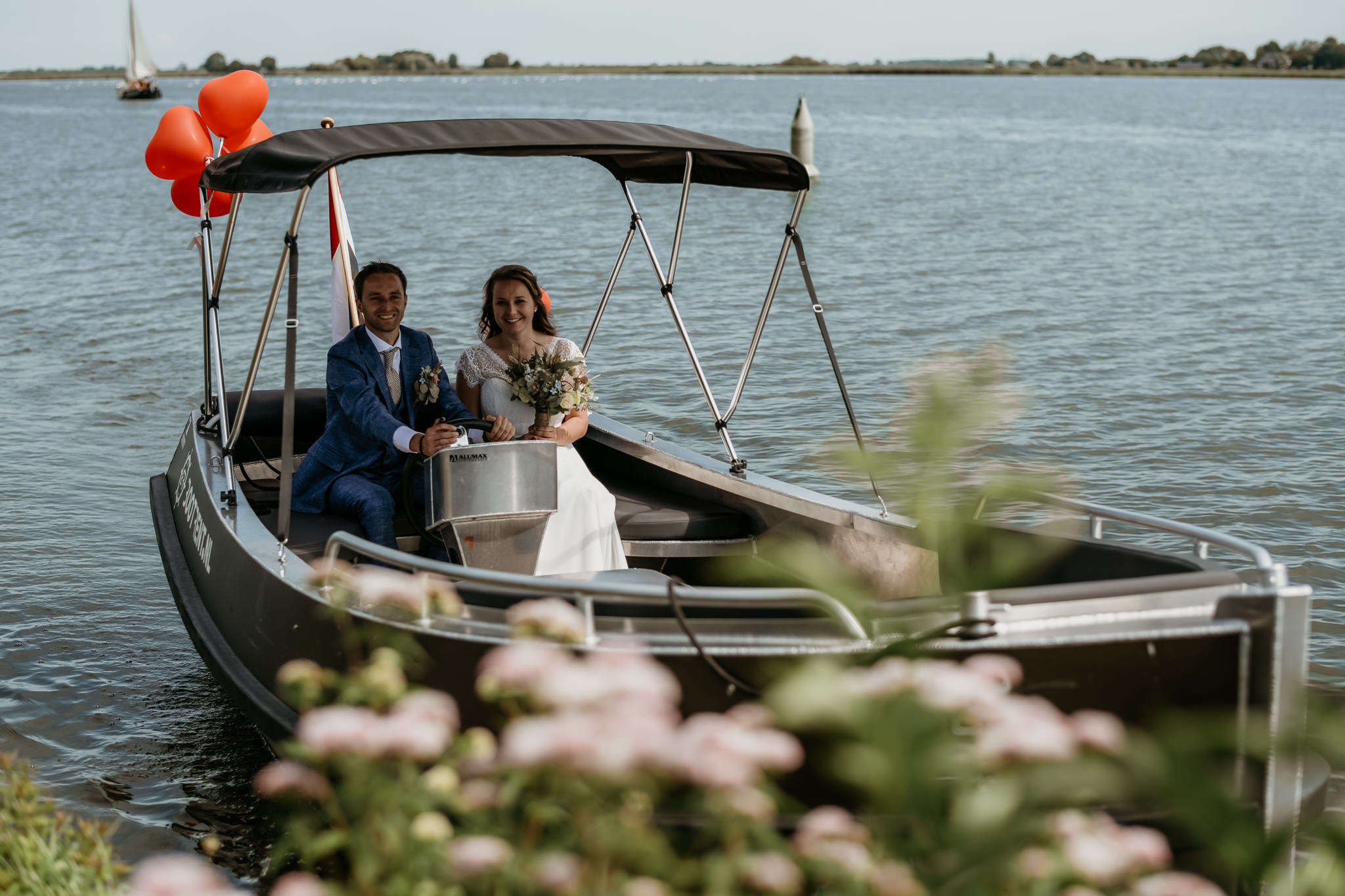 Trouwfotograaf Kampen At Sea